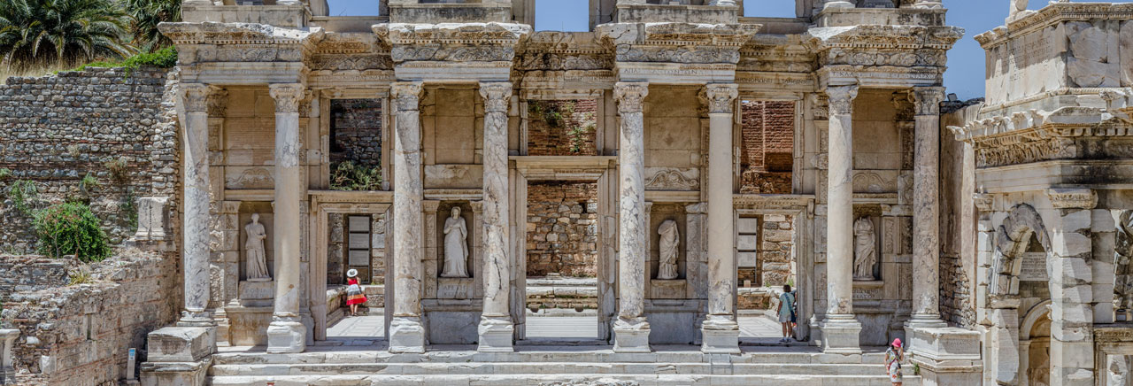 Facade of the Celsus Library, Ephesus