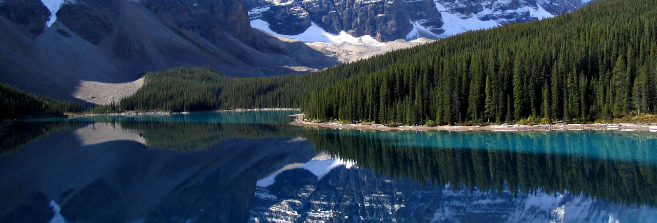 Valley of the Ten Peaks and Moraine Lake, Banff National Park, Canada