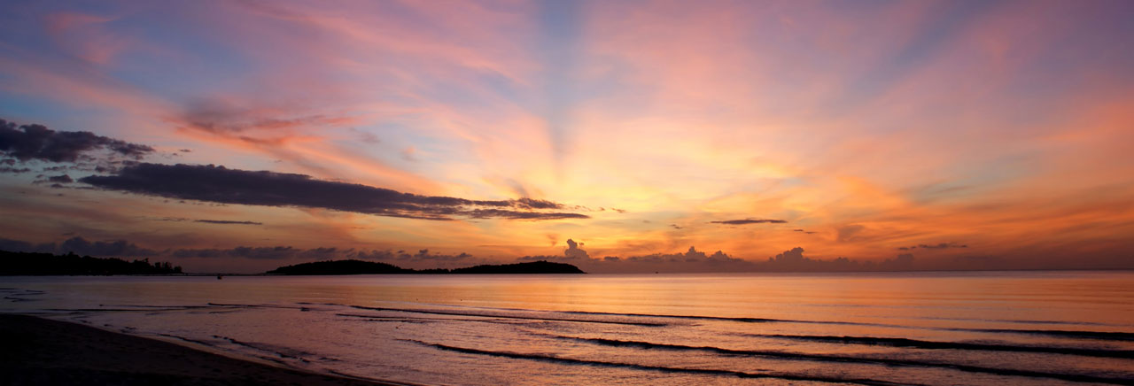 Sunrise in Koh Samui