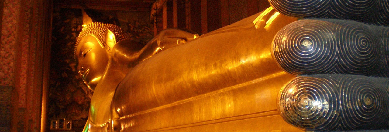 Wat Pho, Temple of the Reclining Buddha, Bangkok