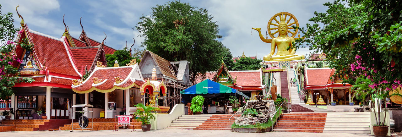 Wat Phra Yai (The Big Buddha Temple), Koh Samui
